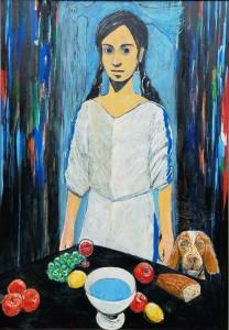 聖杯と犬と少女